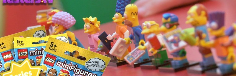 Series 2 Simpsons Lego Minifigures
